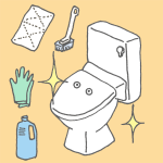 尿石も黄ばみもキレイに!トイレの大掃除のやり方と手順